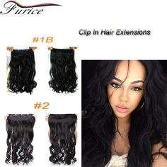 clip 4 Picture - More Detailed Picture about Multicolor One Piece For Full  Head Long Wavy Curly Hair Extensions Hairpieces Hairdo Clip in Curl Hair  Weave ... 207bc6e94