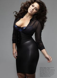 Ashley Graham (36 inch bust, 34 inch waist, 47 inch hips). Simply gorgeous. Inspiration.