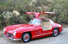 1955 Mercedes 300SL - love the doors!