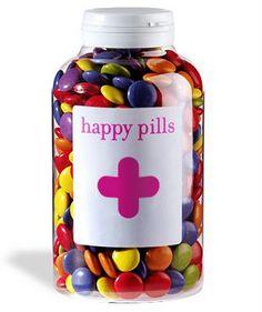 happy pills-chocolate candies
