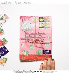 SNAIL MAIL | FROM MALAYSIA | Merissa-Cherie.blogspot.com #package #mail #penpal #letters #postagestamps