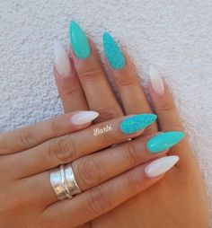 ✔ 40 cute acrylic nails designs to inspire your winter holiday . ✔ 40 cute acrylic nails designs to inspire your winter holiday Cute Acrylic Nail Designs, Cute Acrylic Nails, Nail Art Designs, Nails Design, Acrylic Nails For Holiday, Winter Acrylic Nails, Mint Nail Designs, Turquoise Nail Designs, Colorful Nail Designs