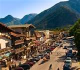 Leavenworth, WA  Tucked away in the Wenatchee Mountains is this sweet little town.