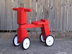 Kids bikes...handmade on Etsy...awesome!