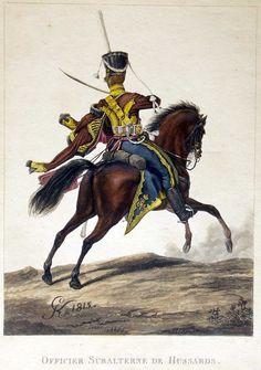 "Russia Officer ""Akhtirska"" Hussar Regt. 1815 Klein"