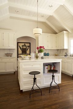 Kitchen Design from Kishani Perera + 5 Tips for Decorating a Kitchen |   Read more - http://www.stylemepretty.com/living/2013/08/06/kitchen-design-from-kishani-perera/