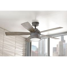 Exceptional Home Decorators Collection Ceiling Fan Home Decorators Collection 52 In  Indooroutdoor Weathered Gray Interior | Ceiling Fans | Pinterest | Ceiling  Fans, ...