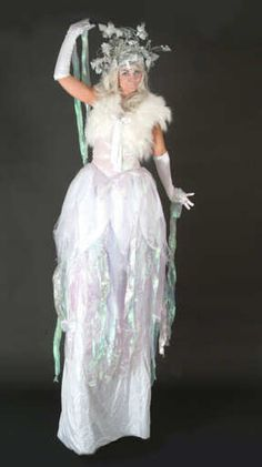 Ideas for a SNOW QUEEN or a WINTER fairy dress this Yule season! u00b7u00b7u00b7 | u00b7u00b7u00b7 Your Fantasy Costume ...