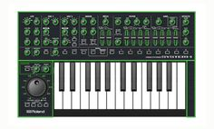 Roland Aira System 1 Synth.