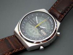 Seiko Time Sonar Automatic Chronograph Cal.7015A