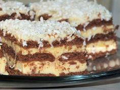Sernik gotowany na kakaowych herbatnikach Polish Recipes, Top Recipes, Cake Recipes, Cooking Recipes, Wedding Desserts, How Sweet Eats, Food Porn, Food And Drink, Favorite Recipes