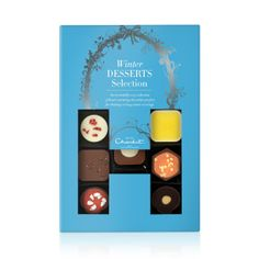 An irresistibly cosy collection of heart-warming chocolates, our H-Box Winter Desserts Collection is perfect for sharing on long winter eves. #hotelchocolat #hcdreamhamper