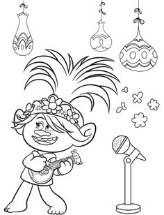 Free Trolls World Tour Coloring Pages and Printable Activities Shopkins Coloring Pages Free Printable, Shopkins Colouring Pages, Monster Coloring Pages, Pokemon Coloring Pages, Cute Coloring Pages, Cartoon Coloring Pages, Christmas Coloring Pages, Coloring Pages To Print, Free Coloring