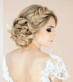 hair up idea for samanthas wedding
