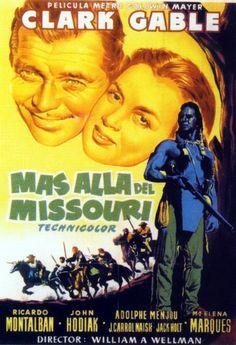 Más allá del Missouri - Across the Wide Missouri (1951)