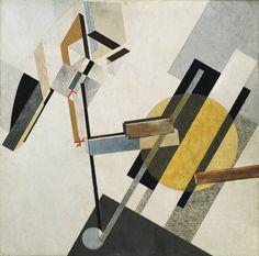 El Lissitzky. Proun 19D. 1920 or 1921