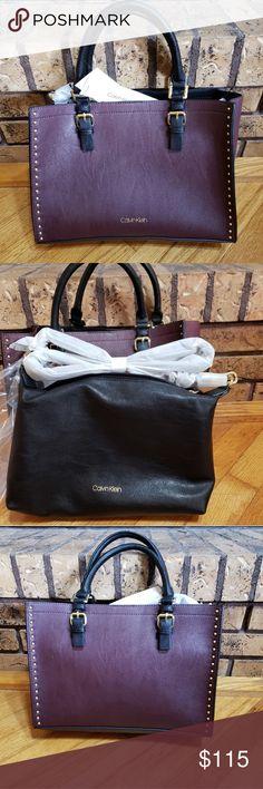 e6dad4539c Spotted while shopping on Poshmark  Calvin Klein Handbag  Bag-in-Bag  NWT!   poshmark  fashion  shopping  style  Calvin Klein  Handbags
