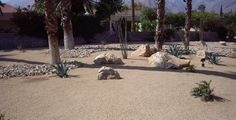 Palm Springs Gold Decomposed Granite