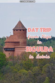 Day trip from Riga to Sigulda Latvia