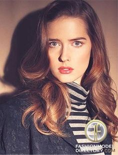 Ann Ward - such a unique person and one of my favorite America's Next Top Model winners. I admire her for her story and what she has accomplished.