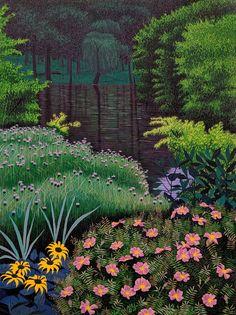 Mountain Landscape, Landscape Art, Davidson Galleries, Red River, Art Graphique, Anime Scenery, Print Artist, Artist At Work, Garden Art