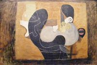 Georges Braque - Grande nature morte brune