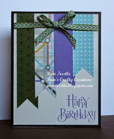 Pam's Crafty Creations: Wanderful - Birthday card