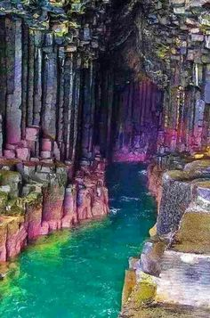 Fingal's Cave, Hebrides, Scotland