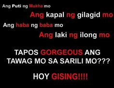 Funny Tagalog Quotes | Re: May nag text... funny tagalog quotes.