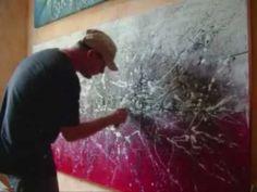 Abstract Art Action Painting-Dripping APOCALYPSE, la fin de monde by Lepolsk MATUSZEWSKI