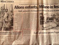 #milano #14Luglio #BicentenarioRivoluzioneFrancese #DoloresPuthod