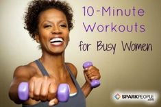 No excuses with these efficient workouts!