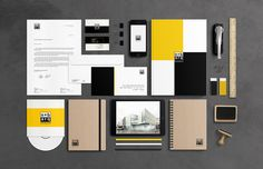 n+b arq | Branding & Stationery on Behance