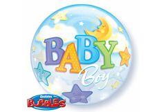 BULLE 22'' 'BABY BOY' - LUNE & ETOILES