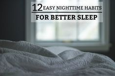12 Easy Nighttime Habits for Better Sleep Why Cant I Sleep, Mentally Exhausted, American Psychological Association, Night Time Routine, Health Articles, Health Tips, Sleep Deprivation, Warning Signs, Stress And Anxiety