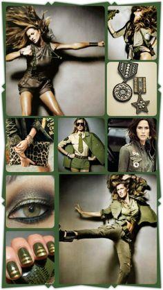 Military Fashion Force