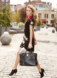 I honestly like 90% of what girlfriend wears. #Olivia Palermo -IB