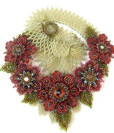Amazing beadwork by CieloDesign by angela