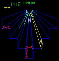 Tempest, Atari Inc., I just loooved this game! Vintage Video Games, Classic Video Games, Tempest Video Game, Retro Arcade Games, Big Fish Games, Penny Arcade, Old Video, Interactive Design, Science