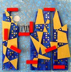 """Saatchi Art Artist Marita Milkis; Installation, """"Megalopolis"""" #art"""