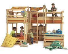 WOODLAND children's furniture - loft beds, bunk beds
