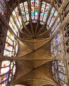 Basilica of St Denis, Paris, France by Grangeburn