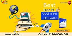Clear registry errors to sustain original performance with use of Best Registry Cleaner Software or PC Optimizer. Simply, visit www.akick.in to download this software without having compatibility issues because it supports most of the operating systems.