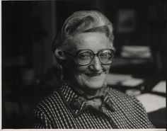 Dame Cicely Saunders (1918-2005)  Instrumental in the beginning of the hospice movement and great advocator for palliative care