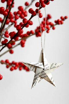 More Minimalist Holiday Decorations - Improvised Life
