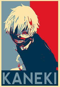 Poster Anime, A4 Poster, Poster Prints, Otaku Anime, Anime Guys, Manga Anime, Anime Art, Kaneki, Tokyo Ghoul Pictures