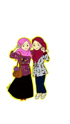 My bestfriend and I were in High School Graduation 67'32. My bestfriend's name is Aulia(right side)