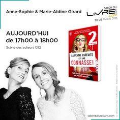 Rencontre avec Anne-Sophie & Marie-Aldine Girard au #SDL2015