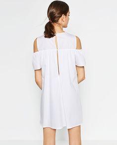 POPLIN DRESS-Collection-WOMAN-NEW IN   ZARA United States