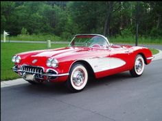1960 Corvette Convertible. another one of my dream cars